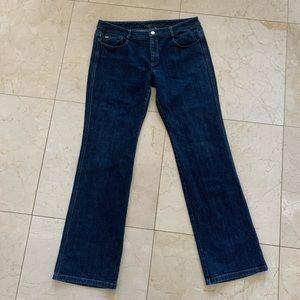 St. John Rhinestone Jeans Sz 12 Like New